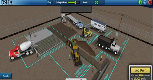 OSHA desarrolla herramienta virtual para capacitacion sobre peligros contenido 3
