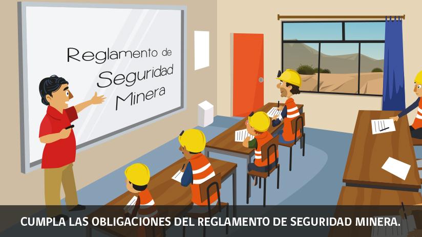 Reglas de oro de la seguridad minera en Chile - segunda regla