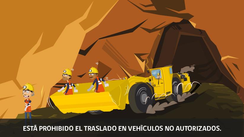 Vigésima regla de oro de seguridad para operaciones mineras en Chile