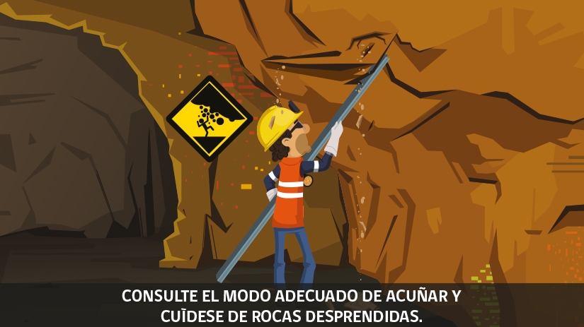 Reglas de oro de la seguridad minera en Chile - tercera regla