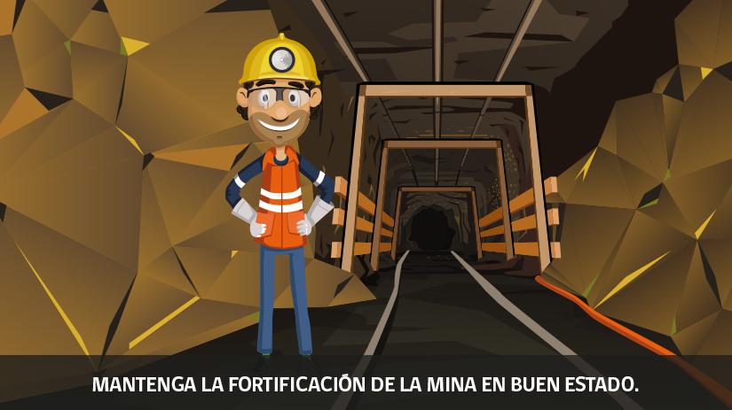 Reglas de oro de la seguridad minera en Chile - cuarta regla