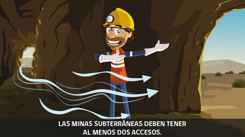 Reglas de oro de la seguridad minera en Chile - séptima regla