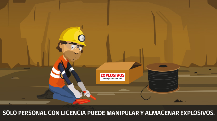 Reglas de oro de la seguridad minera en Chile - novena regla