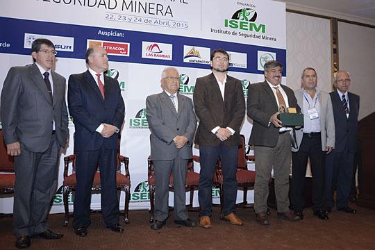 Antapaccay obtuvo –por segundo año consecutivo– el Premio Nacional de Seguridad del ISEM en la categoría Tajo Abierto.
