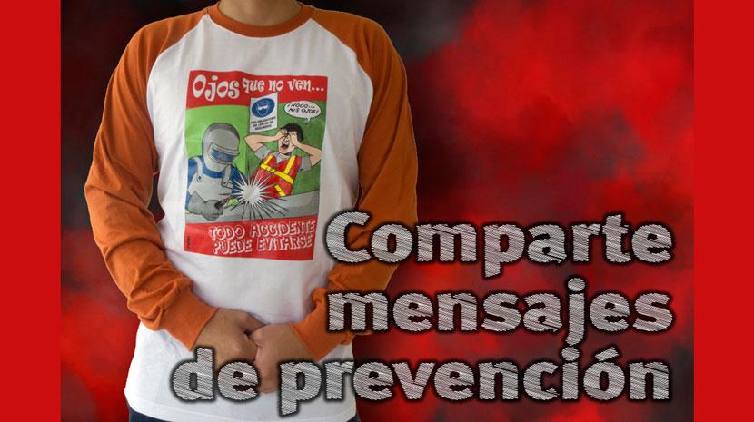 «Ojos que no ven»: camisetas sobre protección visual