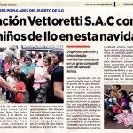 Corporación Vettoretti es reconocido por su continuo apoyo social