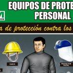 Afiche de equipos de protección 2016