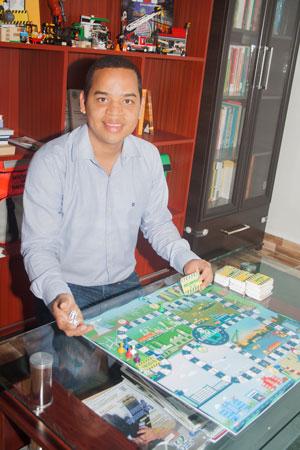 Pablo Pinto Ariza, presidente de la Asociación de Prevencionistas de Riesgos-ADPR y creador del juego de mesa SafetyPlayce