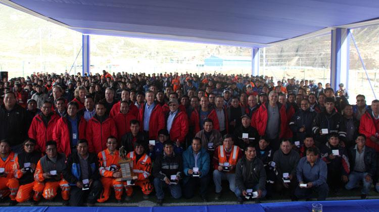 Minera Argentum obtiene premio a la seguridad de Pan American Silver