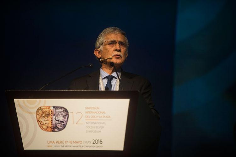 Nelson Pizarro - Presidente ejecutivo, Codelco - Simposium Internacional del Oro y de la Plata