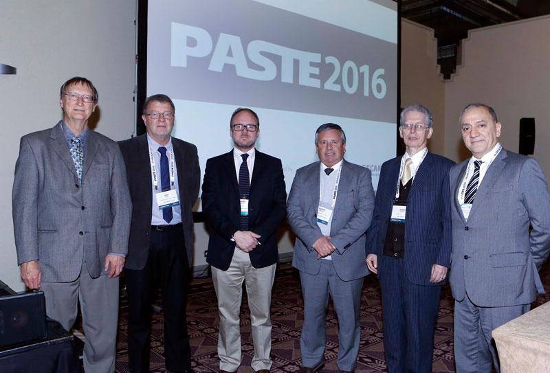 Comité ejecutivo del Seminario Internacional de Relaves Espesados y en Pasta