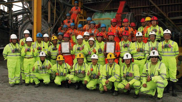 Minera Colquisiri S.A. con altos estándares de prevención de riesgos