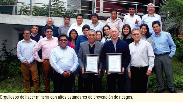 Colquisiri: orgullosos de hacer minería con altos estándares de prevención de riesgos