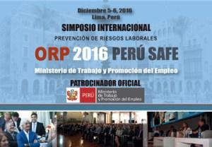 Evento Peru Safe