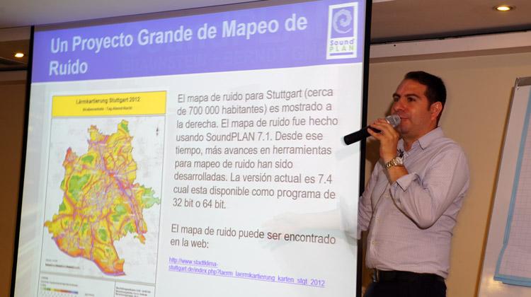 el mapeo de ruido aprovecha las fuentes de datos existentes y facilita crear un modelo de simulación