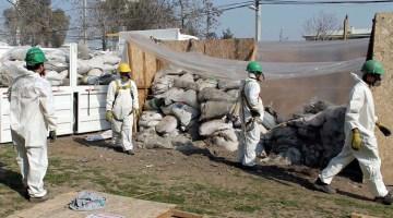 ¿Cómo retirar materiales con amianto?