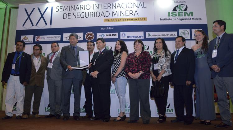 Gestión de seguridad de Yanacocha reconocida en Concurso Nacional de Seguridad Minera