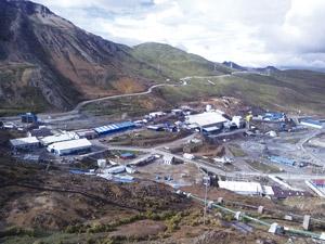 Huarón es una mina subterránea con 1547 trabajadores, tanto de compañía como de contratistas.