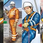 Afiche sobre el uso de equipos de protección personal