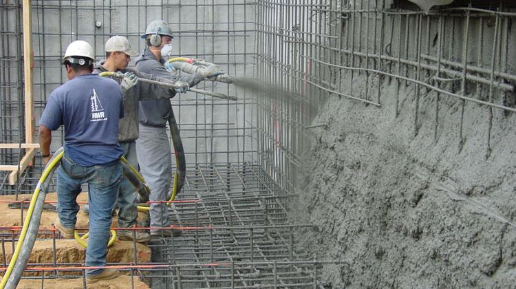 concreto proyectado