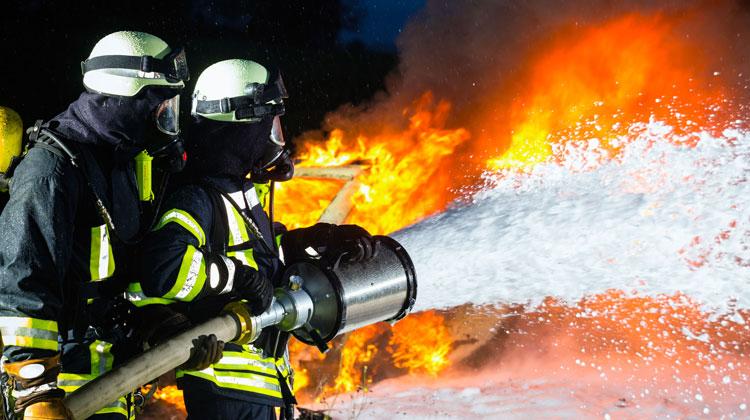 Nuevos concentrados de espuma contra incendios