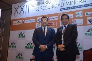 Fernando Borja y Edwin Quintanilla
