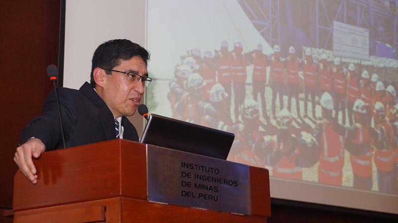 Johnny Pérez Pariño, superintendente de Seguridad y Salud Ocupacional de Hudbay Perú S.A.C