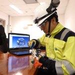 estructura robótica para monitoreo con videocospio de rodete Pelton