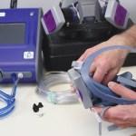 Prueba de sello cuantitativa en protección respiratoria con el Portacount