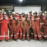 El área de Perforación y Tronadura de la Mina Norte terminó el 2019 sin accidentes y con récord en incorporación de área para la extracción de mineral.