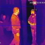 Cámaras termográficas miden temperatura de hasta 30 personas en simultáneo