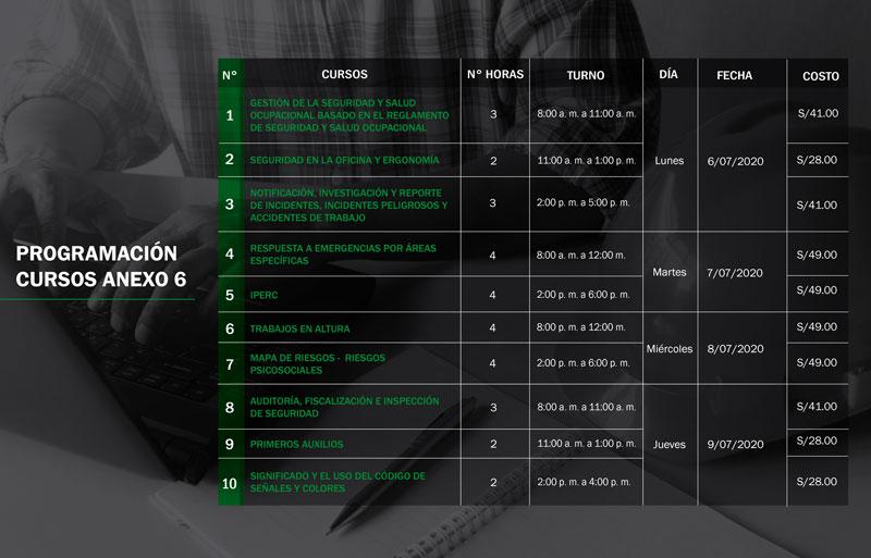 ISEM dicta 20 cursos del reglamento en modalidad online. Primer grupo de cursos.