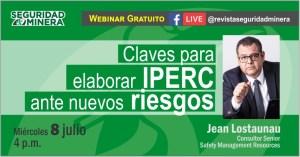 Webinar gratuito: Claves para elaborar IPERC ante nuevos riesgos