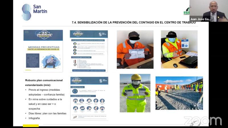 San Martin Contratistas objetivo es minimizar tasa de contagio y cumplir plan COVID-19