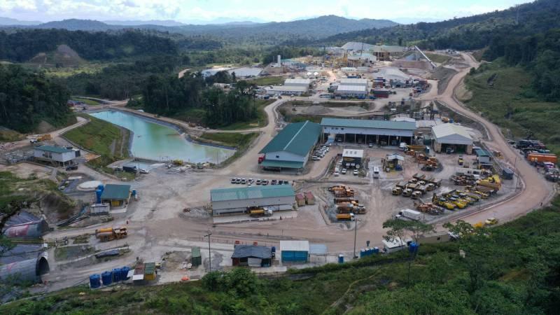 G&G Perforaciones realiza perforación diamantina en mina ecuatoriana Fruta del Norte
