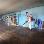 Antapaccay desinfecta 86 locales en comunidades y distritos de Espinar