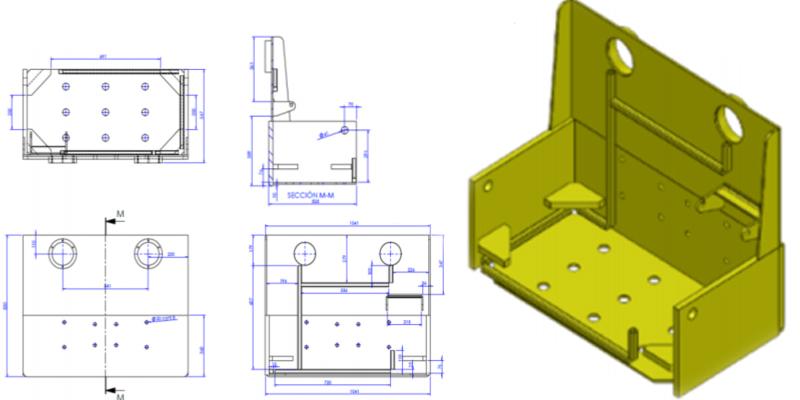 Plano del diseño