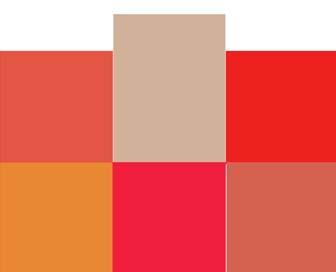 Combinación del beige por armonía de colores