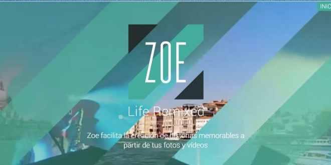 Zoe, otra forma de revivir momentos