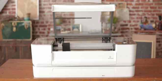 Impresora 3D crea objetos con recortes a láser