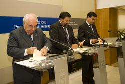 Los ministerios de Justicia e Industria y el Principado de Asturias impulsan el desarrollo de servicios públicos digitales en la justicia