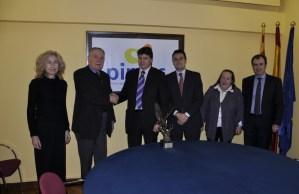 Entrega del Trofeo Sidem a la gestión empresarial a Pimec