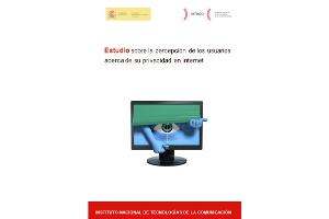 """INTECO publica el """"Estudio sobre la percepción de los usuarios acerca de su privacidad en Internet"""""""