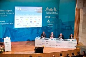 Calvo Sotelo garantiza la continuidad de la estrategia de Red.es y la agenda digital en el Encuentro de las Telecomunicaciones