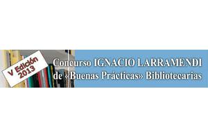 V Concurso Ignacio Larramendi de Buenas Prácticas Bibliotecarias