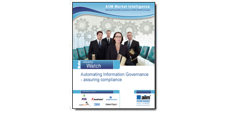 """""""Automating Information Governance - assuring compliance"""