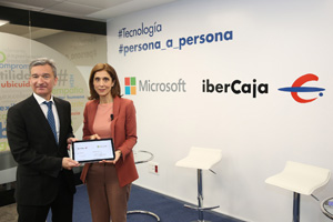 Ibercaja y Microsoft
