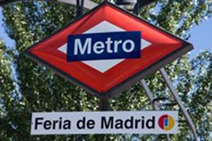 Estación de metro Feria de Madrid