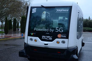Minibús autónomo 5 G