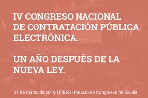 IV Congreso Nacional de Contratación Pública Electrónica.